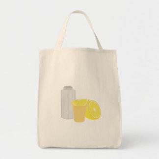 塩、レモンおよびテキーラ トートバッグ