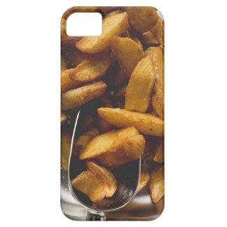 塩(詳細)が付いているポテトのくさび iPhone SE/5/5s ケース