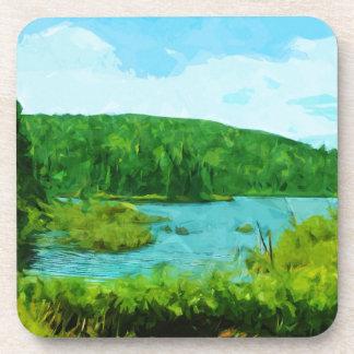 境界はカヌー区域のミネソタの抽象芸術に水をまきます コースター