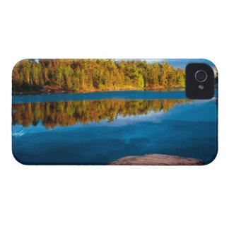境界水の早い夕べの反射 Case-Mate iPhone 4 ケース