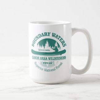 境界水カヌーの道の荒野 コーヒーマグカップ