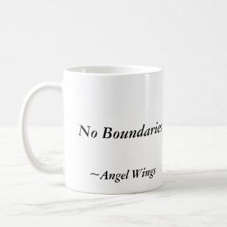 境界無し、マグ、ジェームスライアンの天使の翼 コーヒーマグカップ
