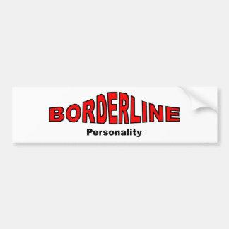 境界線の人格異障害 バンパーステッカー