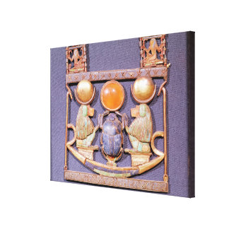 墓からの朝日のネックレス、の キャンバスプリント