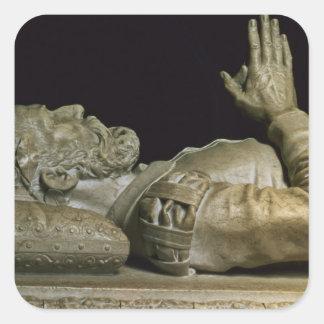 墓からの詳細 スクエアシール