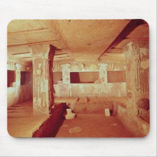 墓のインテリアの眺め マウスパッド