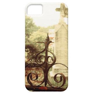 墓地のゲートのiPhoneの場合 iPhone SE/5/5s ケース