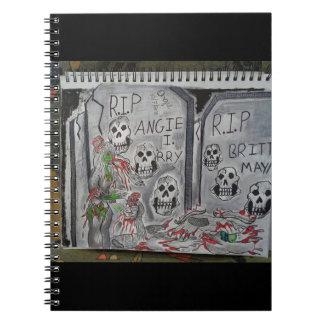 墓地のゾンビ ノートブック