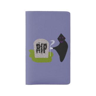 墓地のハロウィンのノートカバーの死 ラージMoleskineノートブック