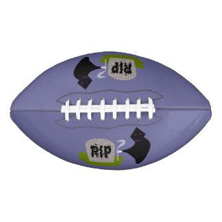 墓地のハロウィンのフットボールの死 アメリカンフットボール