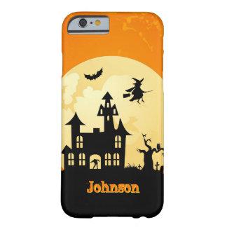 墓地のハロウィンの月光のお化け屋敷 BARELY THERE iPhone 6 ケース