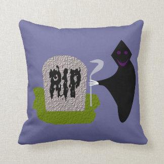 墓地のハロウィンの枕の死 クッション