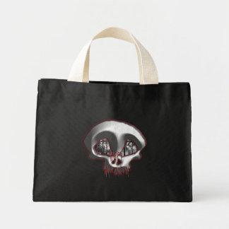 墓地の挨拶! -ハロウィンのバッグ#2 ミニトートバッグ