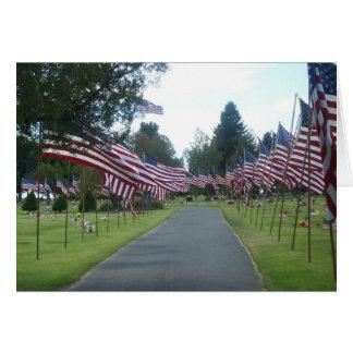 墓地の旗 カード