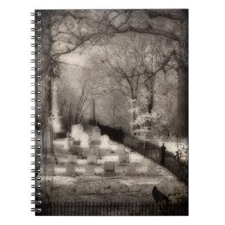 墓地の精神 ノートブック