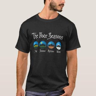 墓地の4季節 Tシャツ