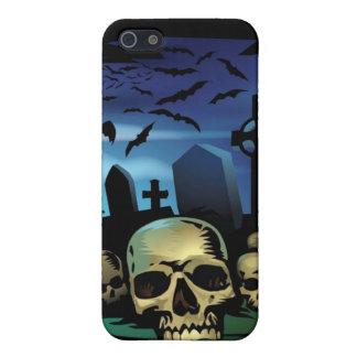 墓地のiPhone 4のSpeckの幽霊のよく出るな例 iPhone 5 Cover