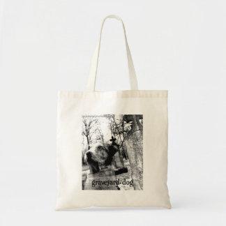 墓地犬の戦闘状況表示板 トートバッグ