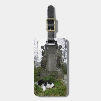 墓地猫 ラゲッジタグ