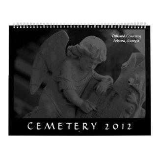 墓地2012年(オークランドの墓地、アトランタ、GA) カレンダー