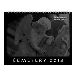 墓地2014年(オークランドの墓地、アトランタ、GA カレンダー