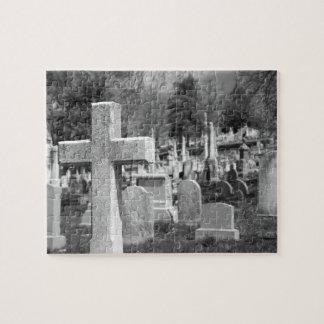 墓地 ジグソーパズル