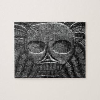 墓石のスカルのパズル ジグソーパズル
