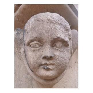 墓石の天使、peterskirche、ハイデルベルクのドイツ語 ポストカード