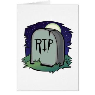 墓碑カード カード