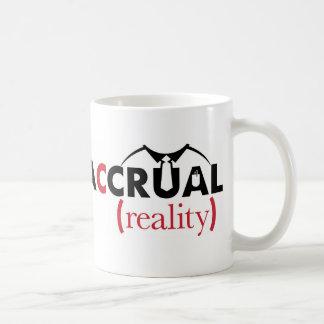 増加の現実の公認会計士マグ コーヒーマグカップ