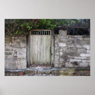 壁および戸口 ポスター