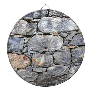 壁として自然な石のBackgound ダーツボード