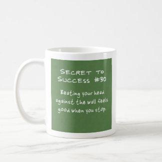 壁に対するあなたの頭部の強打 コーヒーマグカップ
