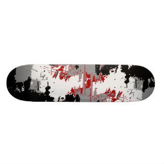 壁のスケートボード スケボーデッキ