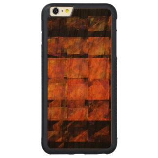 壁の抽象美術 CarvedチェリーiPhone 6 PLUSバンパーケース