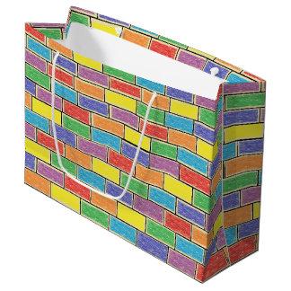 壁の色 ラージペーパーバッグ