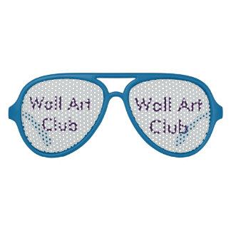 壁の芸術のアイディア アビエーターサングラス