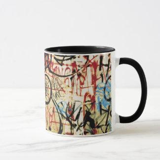 壁の落書き マグカップ