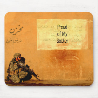 壁の誇りを持ったな軍の兵士の習慣の愛ノート マウスパッド