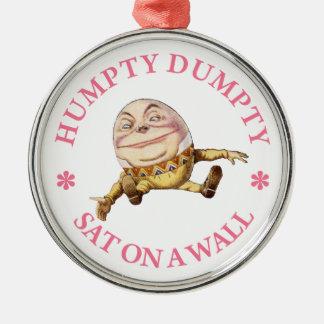 壁のHumpty Dumpty土曜日 メタルオーナメント