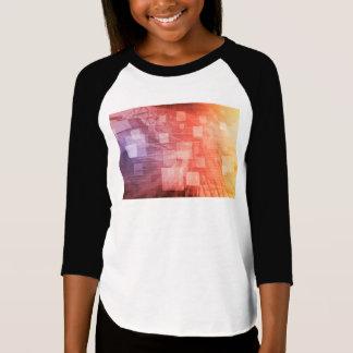壁紙として技術の企業ネットワーク Tシャツ