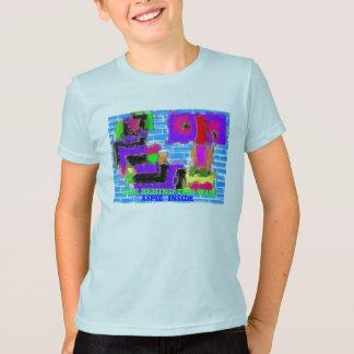 壁、   中ASPIE Tシャツ