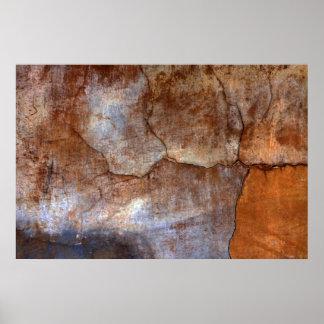 壁、Laアンチグア、グアテマラ ポスター