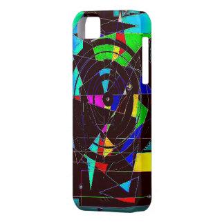 壊されたステンドグラス iPhone SE/5/5s ケース