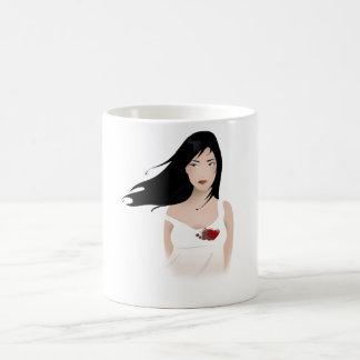 壊される コーヒーマグカップ