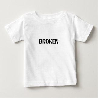 壊される ベビーTシャツ