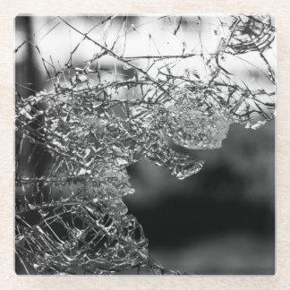 壊れたガラスコースター ガラスコースター