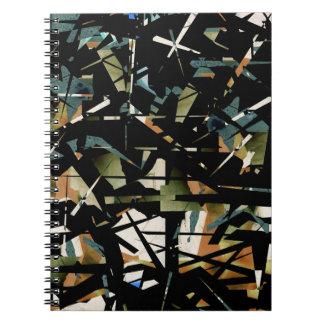 壊れたガラスノート ノートブック