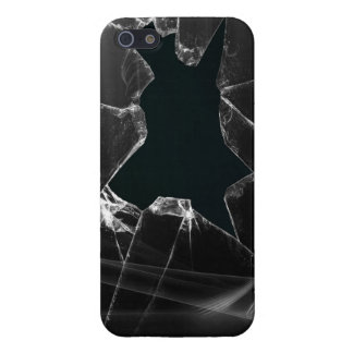 壊れたガラス iPhone 5 カバー
