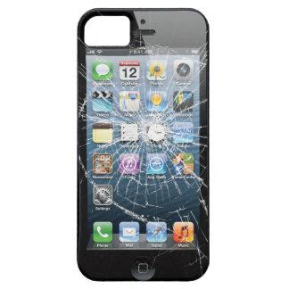 壊れたガラス iPhone SE/5/5s ケース